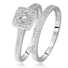 Matching Bridal Ring Sets